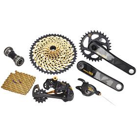 SRAM XX1 Eagle - Piezas para bicicletas - 1x12s GXP negro/Dorado